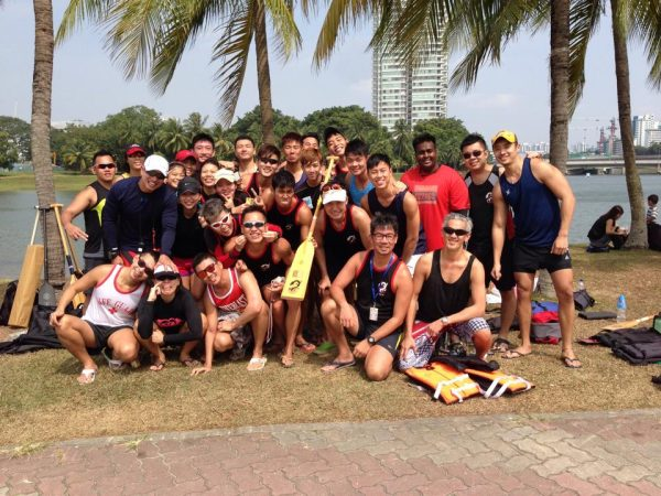 Penang Team Building Dragon Boat Event