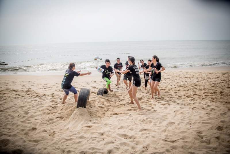 Batu Ferringhi Beach Team Building