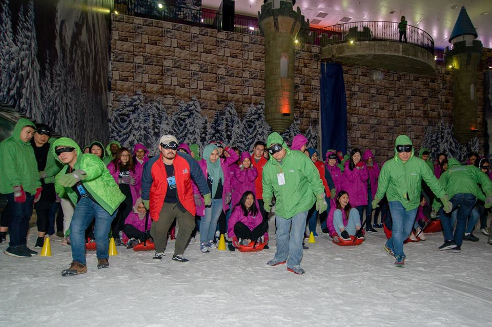 Malaysia Genting Snow World Team Building Activities