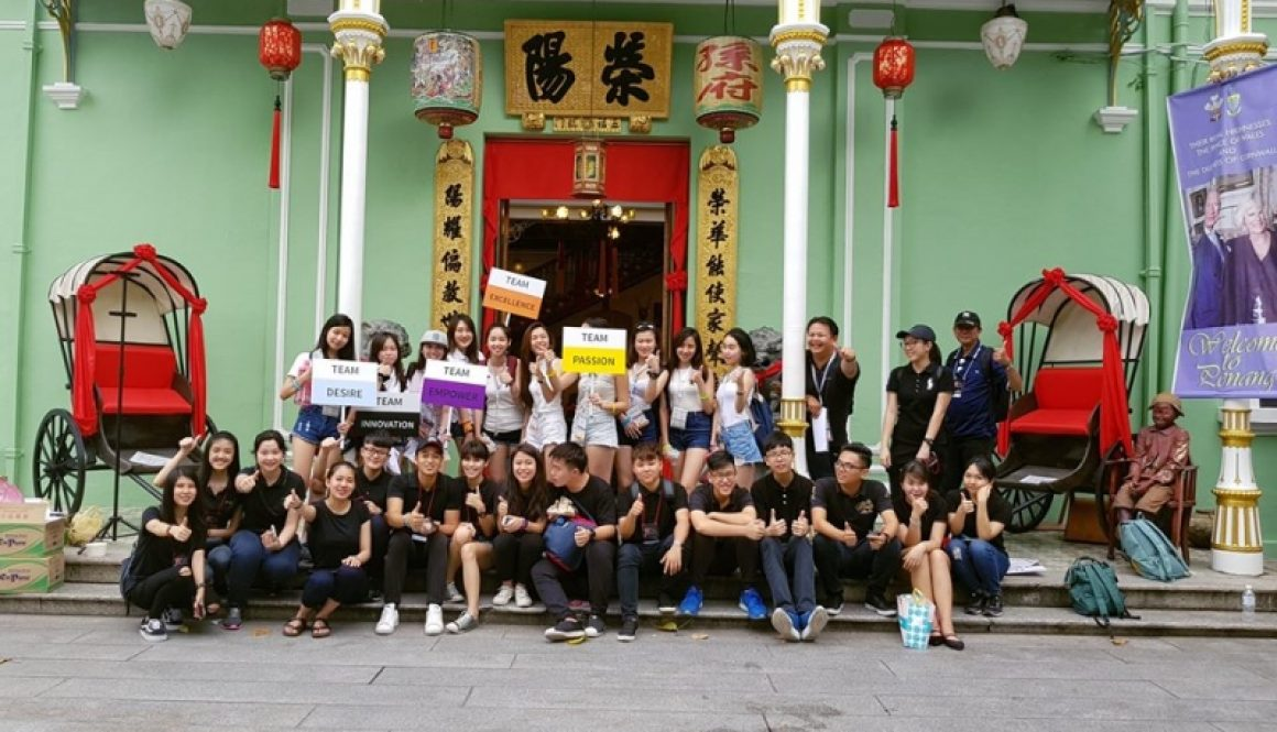 Khoo Kongsi Penang Heritage Series Team Building with Infineon